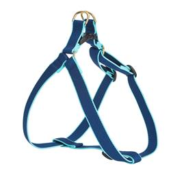Navy and Aqua - Green Market Collection Harnesses