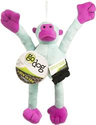 Crazy Tugs Monkeys by goDog - Turquoise - Small