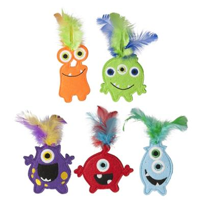 "4"" Monsters w/ Catnip by Multipet"