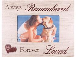 "Always Remembered... 7.5"" x 9.5"" Picture Frame"