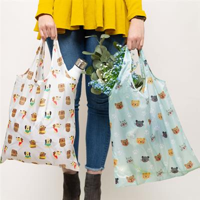 Pet Reusable Tote Bags, Set of 15