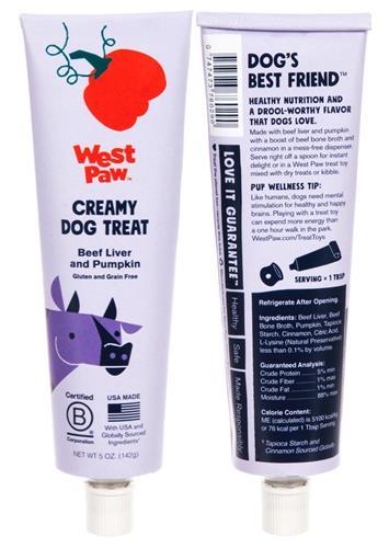 Creamy Dog Treats, 5oz tubes