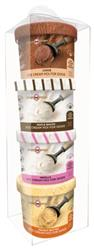 Puppy Scoops Sample Pack 4 Flavors - Ice Cream Mix for Dogs