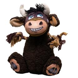 Adventure - Plush Bull w/Rope Arms Toy