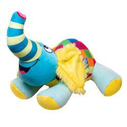 Doodles - Plush Checkered Elephant Toy