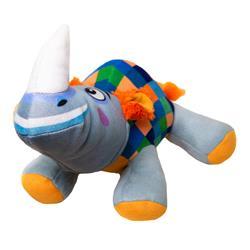 Doodles - Plush Checkered Rhino