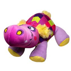 Doodles - Plush Checkered Hippo