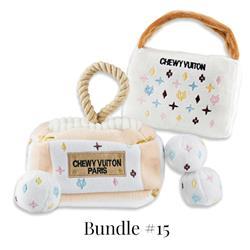 Drop Ship Bundle #15 - Keep Calm & Chewy Vuiton (White Monogram)