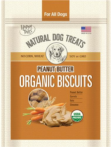 Organic Peanut Butter Treats, 12 oz Bag