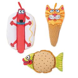 FAT CAT Classic Mini Snacklers Dog Toy