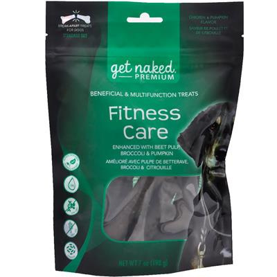 Get Naked Premium Dog Treats - Fitness Care - 7oz bag