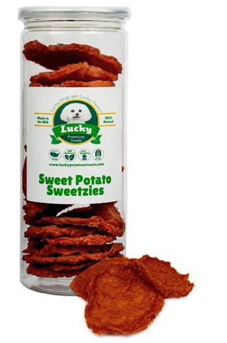 Sweet Potato Sweetzies Dog Treats - Single Unit for Dropship