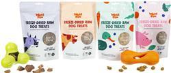 Freeze-Dried Raw Dog Treats - 2.5 oz bags