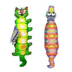 FAT CAT Water Bottle Crunchers Dog Toys