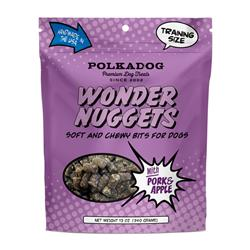 Wonder Nuggets with Pork & Apple - 12oz Pouch - 1 Unit for Drop shipping direct to Customers only
