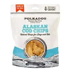 Alaskan Cod Chips - 3.5oz Pouch - 1 Unit for Drop shipping direct to Customers only