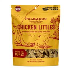 Chicken Littles - Bone Shaped - 8oz bag - 1 Unit for Drop shipping direct to Customers only