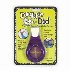 Purple Doggie Did Hands-Free Waste Carrier