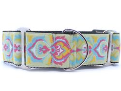 Confection Perfection Extra Wide Martingale Dog Collar & Leash