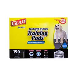 """Glad for Pets Training Pads 23"""" x 23"""" (150 Pack in Full Color Box)"""