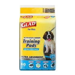 Glad for Pets Ultra-Absorbent Activated Carbon Training Pads (40 Count)