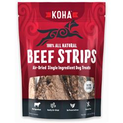 Air Dried Single Ingredient Beef Strips - Dog Treats, 3.25oz