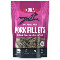 Air Dried Single Ingredient Pork Filets  - Dog Treats, 4oz