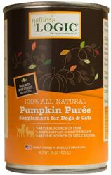 Nature's Logic Pumpkin Purée Food Supplement - 15oz Cans