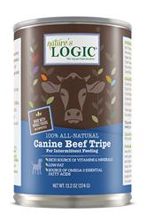 Nature's Logic Canine Beef Tripe - 13.2oz Cans