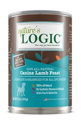 Nature's Logic Lamb Canine Feast - 13.2 oz Cans