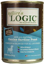 Nature's Logic Sardine Canine Feast - 13.2 oz Cans