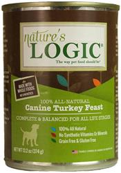 Nature's Logic Turkey Canine Feast - 13.2 oz Cans