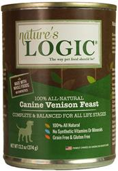 Nature's Logic Venison Canine Feast - 13.2 oz Cans