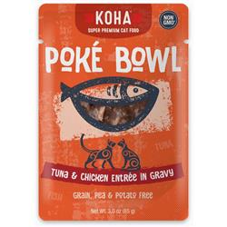 Poké Bowl Tuna & Chicken Entrée in Gravy for Cats