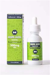 Unflavored Dope Dropper 200mg CBD Oil - 1 oz. Bottle