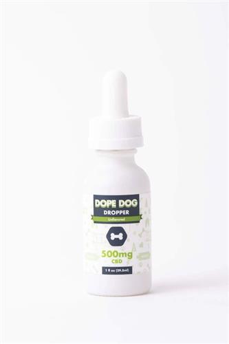 Unflavored Dope Dropper 500mg CBD Oil - 1 oz. Bottle