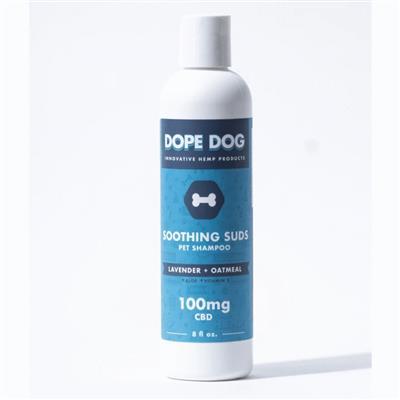 Oatmeal Lavender CBD Dog Shampoo - 8 oz. Bottle