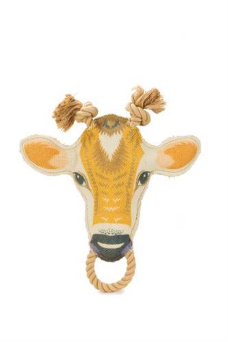 Burlap Cow