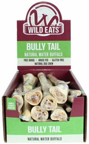 """Wild Eats® 11"""" WATER BUFFALO TAIL DOG CHEW PDQ COUNTER DISPLAY CONTAINS 18 of 20566 (JUST 1.63 EA! )"""