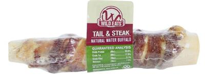 """Wild Eats® 6"""" WATER BUFFALO TAIL WITH STEAK PDQ COUNTER DISPLAY CONTAINS 14 UNITS OF 46019 (JUST 1.63 EACH!)"""