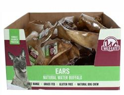 Wild Eats® Water Buffalo EARS 34 UNIT PDQ COUNTER DISPLAY (ALSO SOLD INDIVIDUALLY #20386)