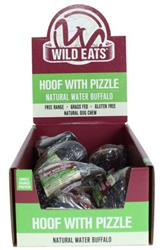 Wild Eats® Hoof with Pizzle PDQ DISPLAY CONTAINS 12 UNITS OF 70586 (ALSO AVAILABLE INDIVIDUALLY #70585)