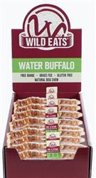 "Wild Eats® 11"" LARGE Water Buffalo Tail with Steak 14 UNIT PDQ COUNTER DISPLAY (ALSO AVAILABLE INDIVIDUALLY #46020)"