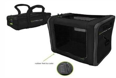 Hyper Pet™ TRAVEL COLLECTION MEDIUM Home and Away Folding Crate (available in 3 sizes)