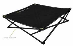Hyper Pet™ TRAVEL COLLECTION SMALL Home and Away Elevated Pet Bed (2 SIZES AVAILABLE)