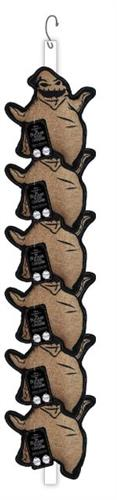 Disney NIGHTMARE BEFORE CHRISTMAS OOGIE BOOGIE Squeak Clip Strip, 12 PCS; 2 6 PIECE CLIPS (ALSO AVAILABLE INDIVIDUALLY #50880EA) NOW JUST $3.85 FOR EACH TOY!