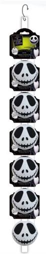 Disney NIGHTMARE BEFORE CHRISTMAS Jack Ball Clip Strip, 12 PCS; 2 CLIPS OF 6 EACH (ALSO AVAILABLE INDIVIDUALLY # 50881EA) NOW 30% OFF! EACH TOY JUST $3.50 EACH!