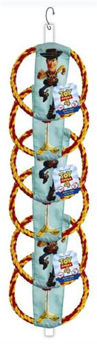 Disney TS4 Woody & Forky Rope Flyer Clip Strip, 12 PCS: 2 CLIP STRIPS OF 6 EACH (ALSO AVAILABLE INDIVIDUALLY #50873EA)