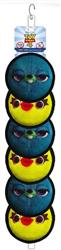 Disney TS4 Ducky & Bunny Flippy Clip Strip, 12 PCS