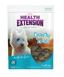 Health Extension Crunchy Dog Treats with Buffalo
